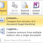 Compare Word Documents