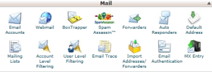 cPanel - Mail forwarders icon