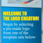 The Logo Creator - File Menu - New Logo