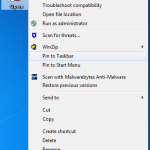 Windows - Pin to Taskbar