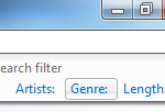 Microsoft Windows Explorer - Search filters - Music folder