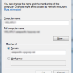 "Windows - ""Computer Name/Domain Changes"" dialog"