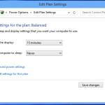 "Windows 8 - ""Edit Plan Settings"" window"