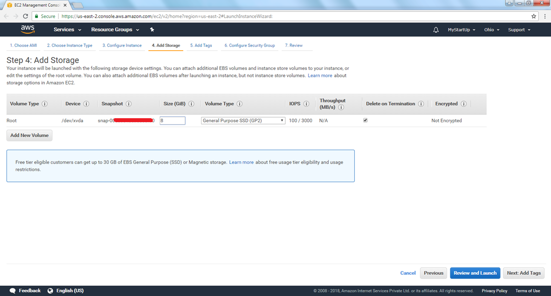 how to create ec2 instance in aws