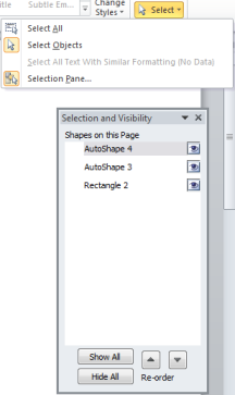microsoft-word-select-multiple-objects