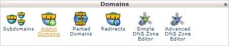 cPanel - Addon Domains icon