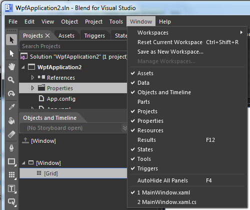 Blend - Creating a New Project - CodeSteps
