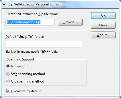 WinZip: Creating Self-Extracting ZIP files - CodeSteps