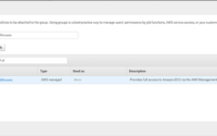 AWS - Create Group - EC2 Full Access