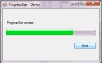 ProgressBar control - Demo